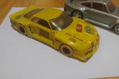 Renault Alpine, kategorie maket A3 (cestovní vozy),  foto dnešního, poněkud neutěšeného stavu